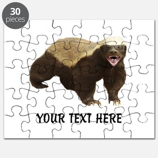 Honey Badger Customized Puzzle