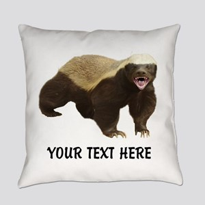 Honey Badger Customized Everyday Pillow