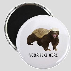 Honey Badger Customized Magnet
