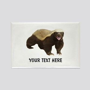 Honey Badger Customized Rectangle Magnet