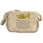 Trumpet Messenger Bag
