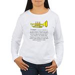 Trumpet Women's Long Sleeve T-Shirt