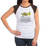 Trumpet Women's Cap Sleeve T-Shirt