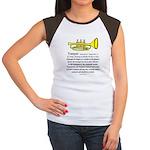 Trumpet Women's Cap Sleeve T-Shirt
