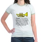 Trumpet Jr. Ringer T-Shirt