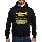 Trumpet Hoodie (dark)