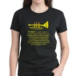 Trumpet Women's Dark T-Shirt