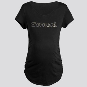 Savannah Spark Maternity Dark T-Shirt