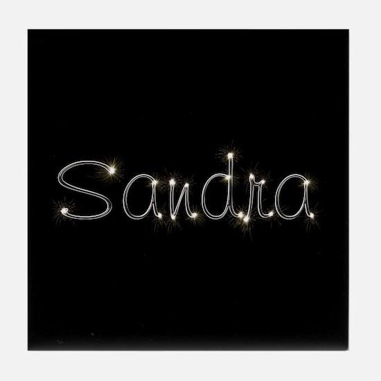 Sandra Spark Tile Coaster