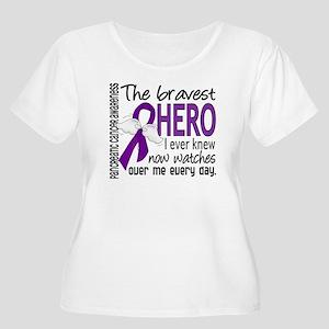 Bravest Hero I Knew Pancreatic Cancer Women's Plus