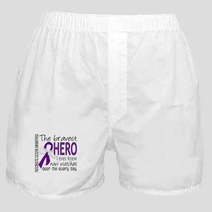 Bravest Hero I Knew Pancreatic Cancer Boxer Shorts