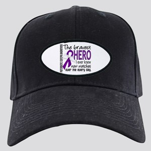 Bravest Hero I Knew Pancreatic Cancer Black Cap