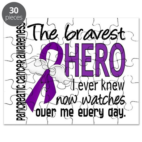 Bravest Hero I Knew Pancreatic Cancer Puzzle