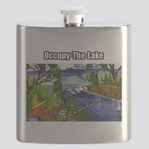 Occupy The Lake Flask
