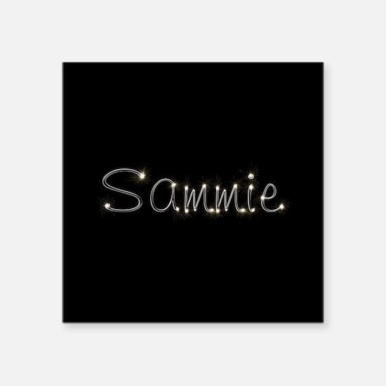 "Sammie Spark Square Sticker 3"" x 3"""