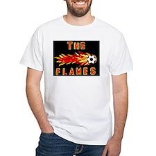 The Flames - White T-Shirt
