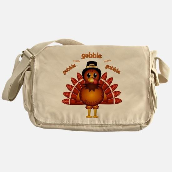 Gobble Gobble Turkey Messenger Bag
