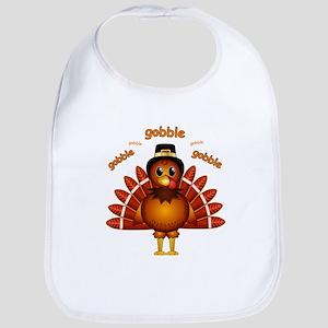 Gobble Gobble Turkey Bib