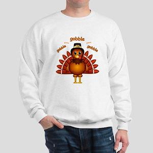 Gobble Gobble Turkey Sweatshirt