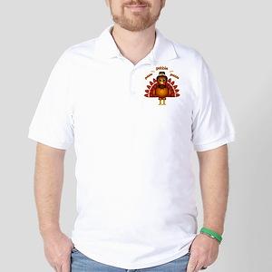 Gobble Gobble Turkey Golf Shirt