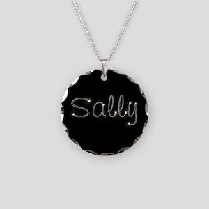 Sally Spark Necklace Circle Charm