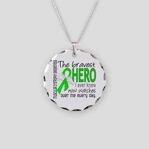 Bravest Hero I Knew Muscular Dystrophy Necklace Ci