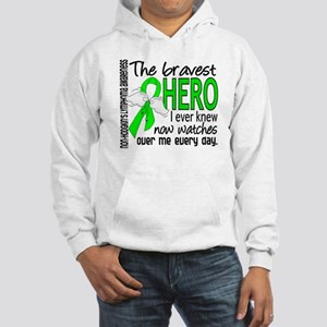Bravest Hero I Knew Non-Hodgkin's Lymphoma Hooded