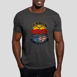 German American Football Soccer Dark T-Shirt