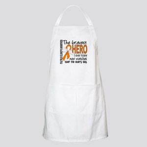 Bravest Hero I Knew Multiple Sclerosis Apron