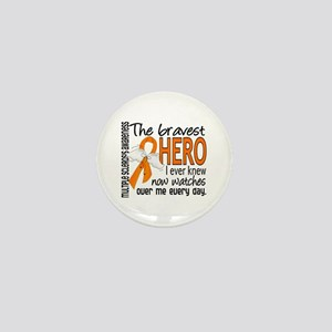 Bravest Hero I Knew Multiple Sclerosis Mini Button