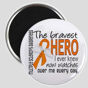 Bravest Hero I Knew Multiple Sclerosis Magnet