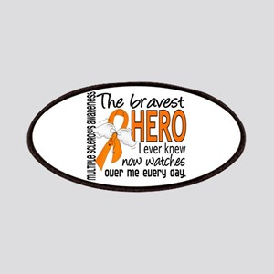Bravest Hero I Knew Multiple Sclerosis Patches
