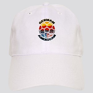 German American Football Soccer Cap