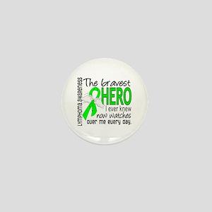 Bravest Hero I Knew Lymphoma Mini Button