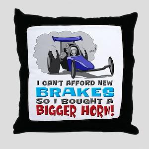 Bigger Horn Throw Pillow