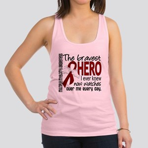 Bravest Hero I Knew Multiple Myeloma Racerback Tan