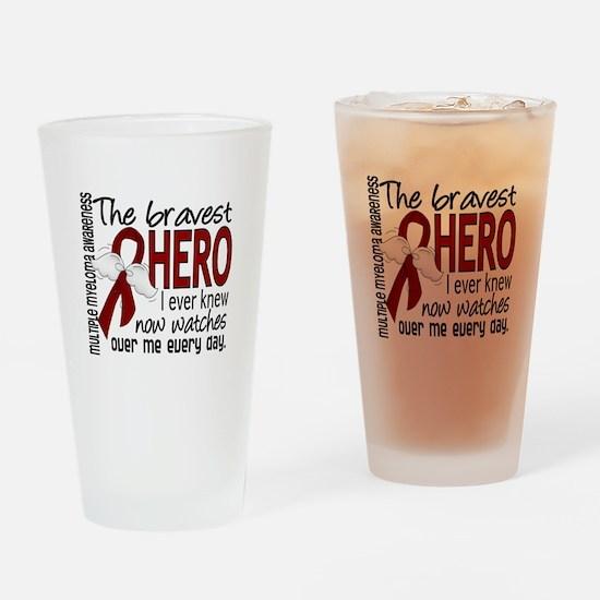 Bravest Hero I Knew Multiple Myeloma Drinking Glas