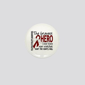 Bravest Hero I Knew Multiple Myeloma Mini Button