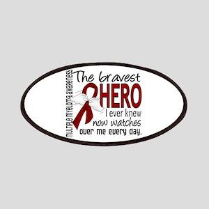 Bravest Hero I Knew Multiple Myeloma Patches