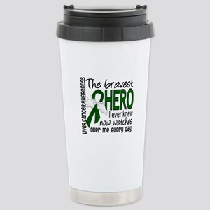 Bravest Hero I Knew Liver Cancer Stainless Steel T