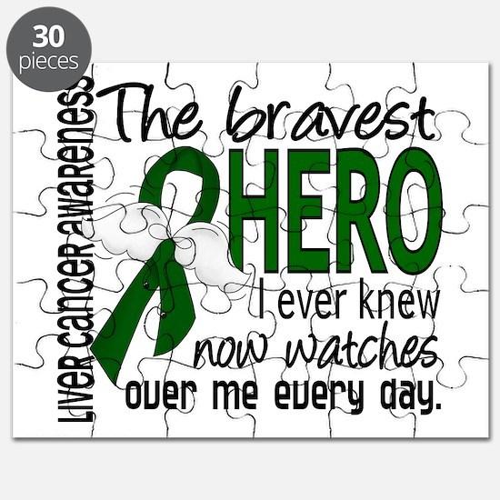 Bravest Hero I Knew Liver Cancer Puzzle