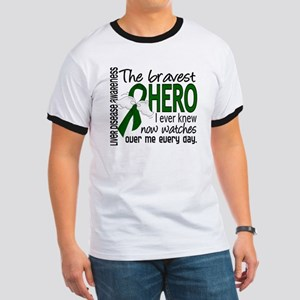 Bravest Hero I Knew Liver Disease Ringer T