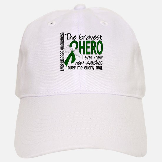 Bravest Hero I Knew Liver Disease Baseball Baseball Cap