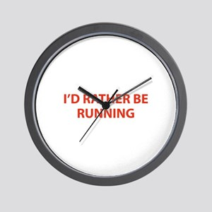 I'd Rather Be Running Wall Clock