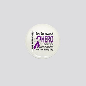 Bravest Hero I Knew Lupus Mini Button