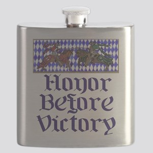 Honor Before Victory Flask