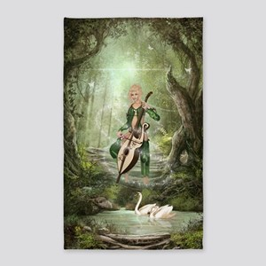 The Elven Forest 3'x5' Area Rug