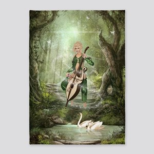The Elven Forest 5'x7'Area Rug