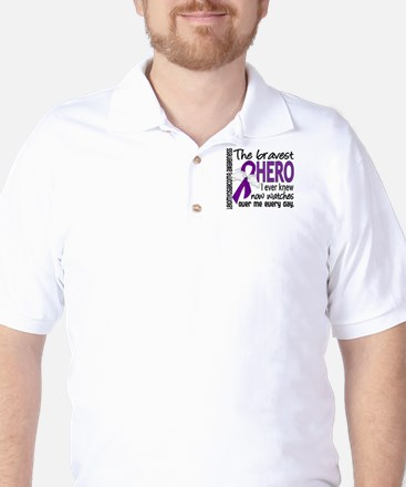 Bravest Hero I Knew Leiomyosarcoma Golf Shirt