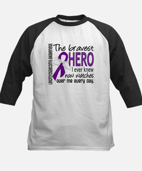 Bravest Hero I Knew Leiomyosarcoma Kids Baseball J
